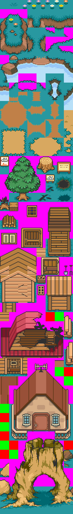 Ranger's Mother 3 Tileset Bonanza (yes there will be spoilers) « Fan