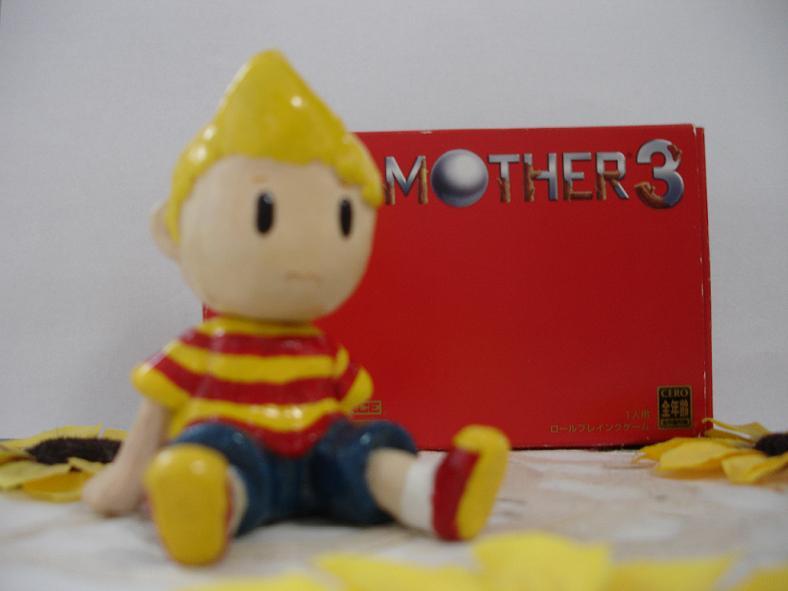 Mother 3 lucas clay