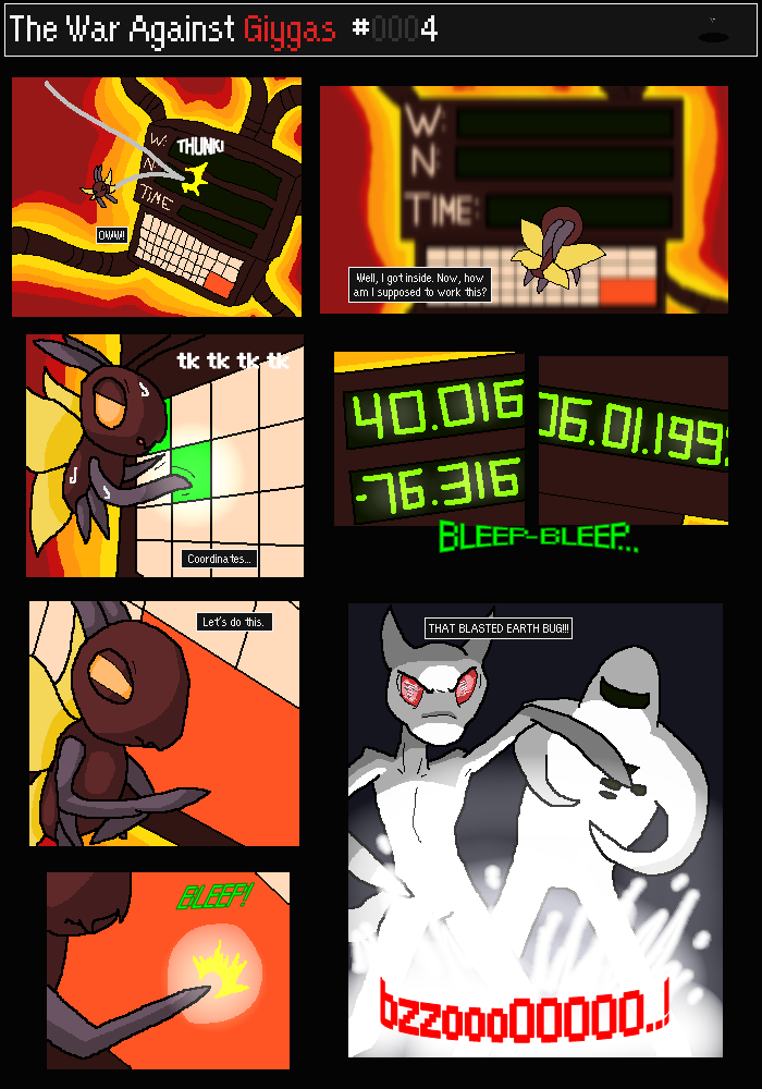 COMIC] The War Against Giygas - Page #7 up! « Fan Forum « Forum