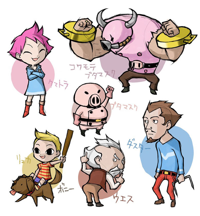 I would kill for a Wind Waker style remake of Mother 3.