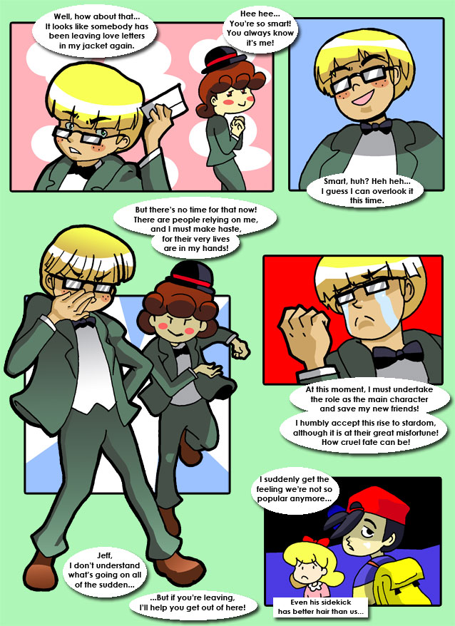 How to make jeff fix things earthbound