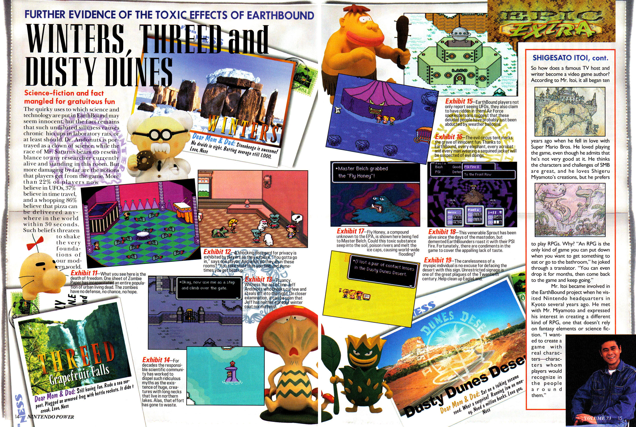 the massive nintendo power earthbound preview earthbound mother rh forum starmen net earthbound beginnings strategy guide earthbound strategy guide wii u