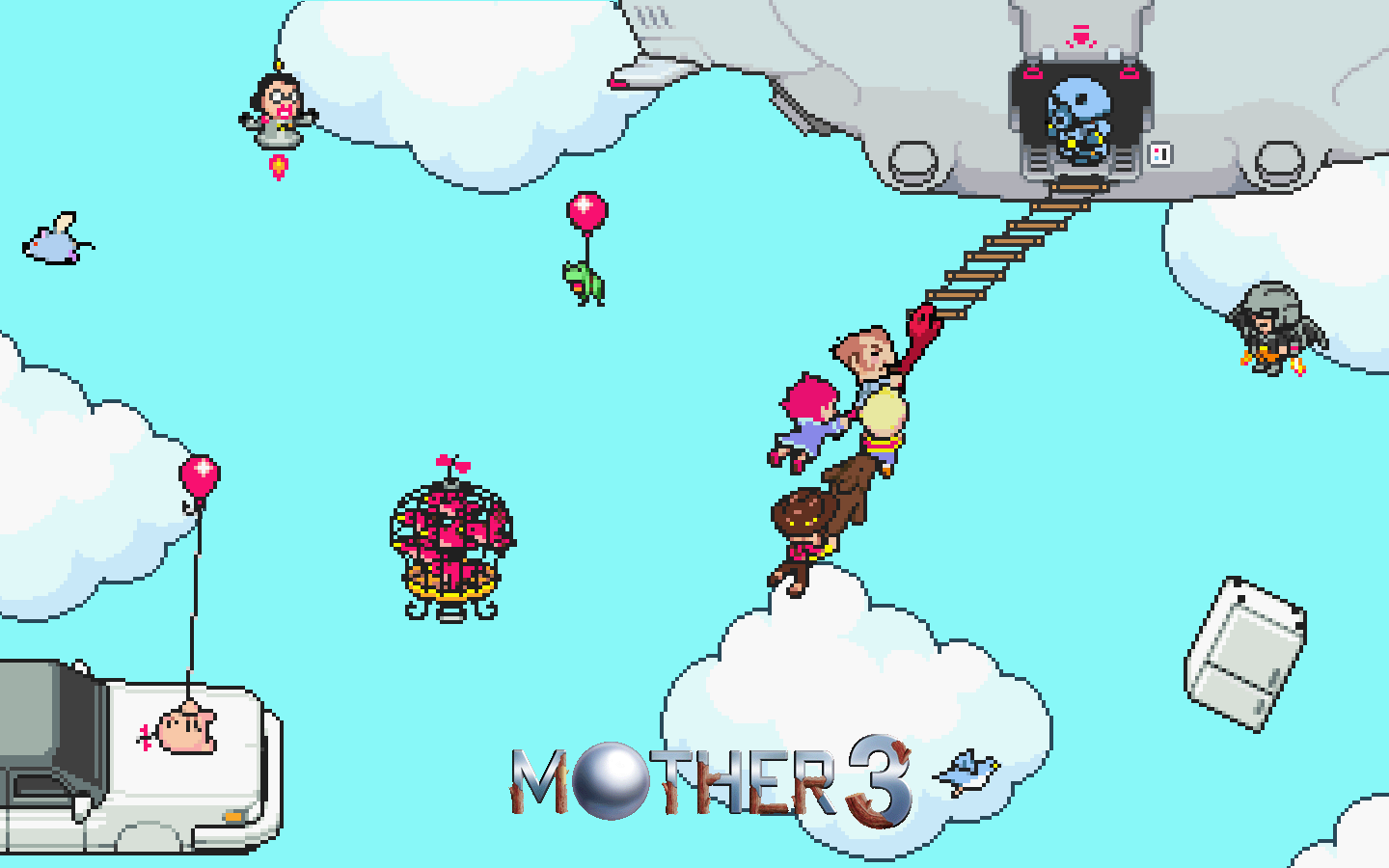 mother 3 1680x1050 wallpapers earthbound 2 mother 3
