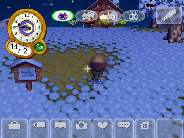 how to find wisp in animal crossing city folk
