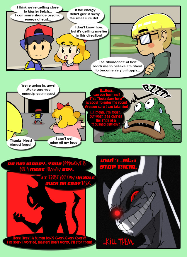 [COMIC] The Chosen Four - An Earthbound adventure - To