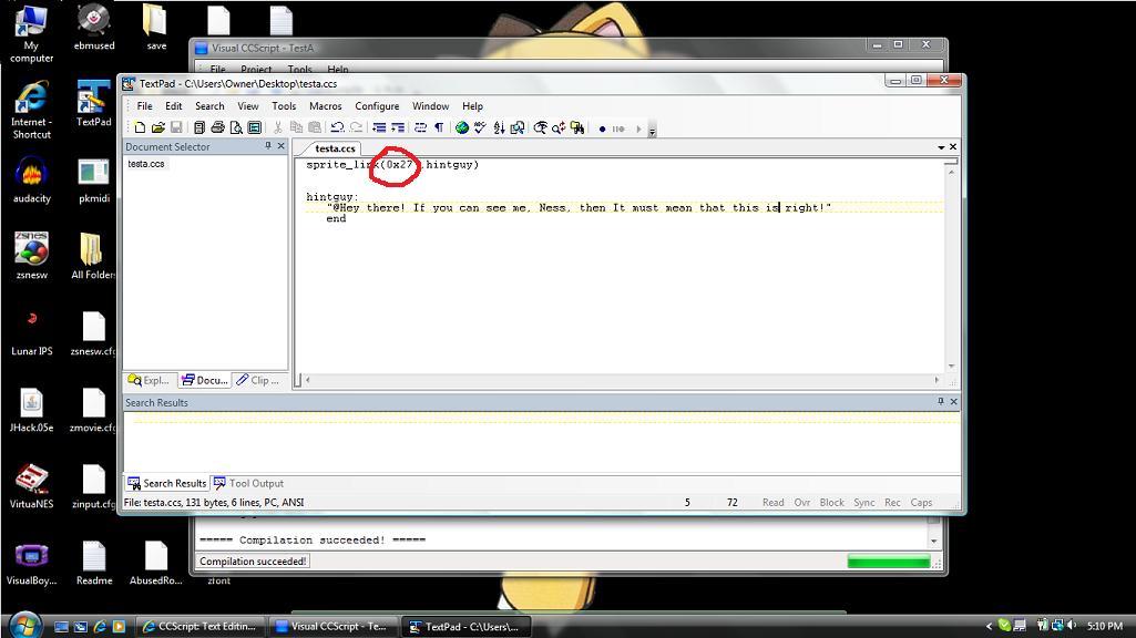 CCScript: Text Editing Made Easy [8/24/2009: Version 1 337