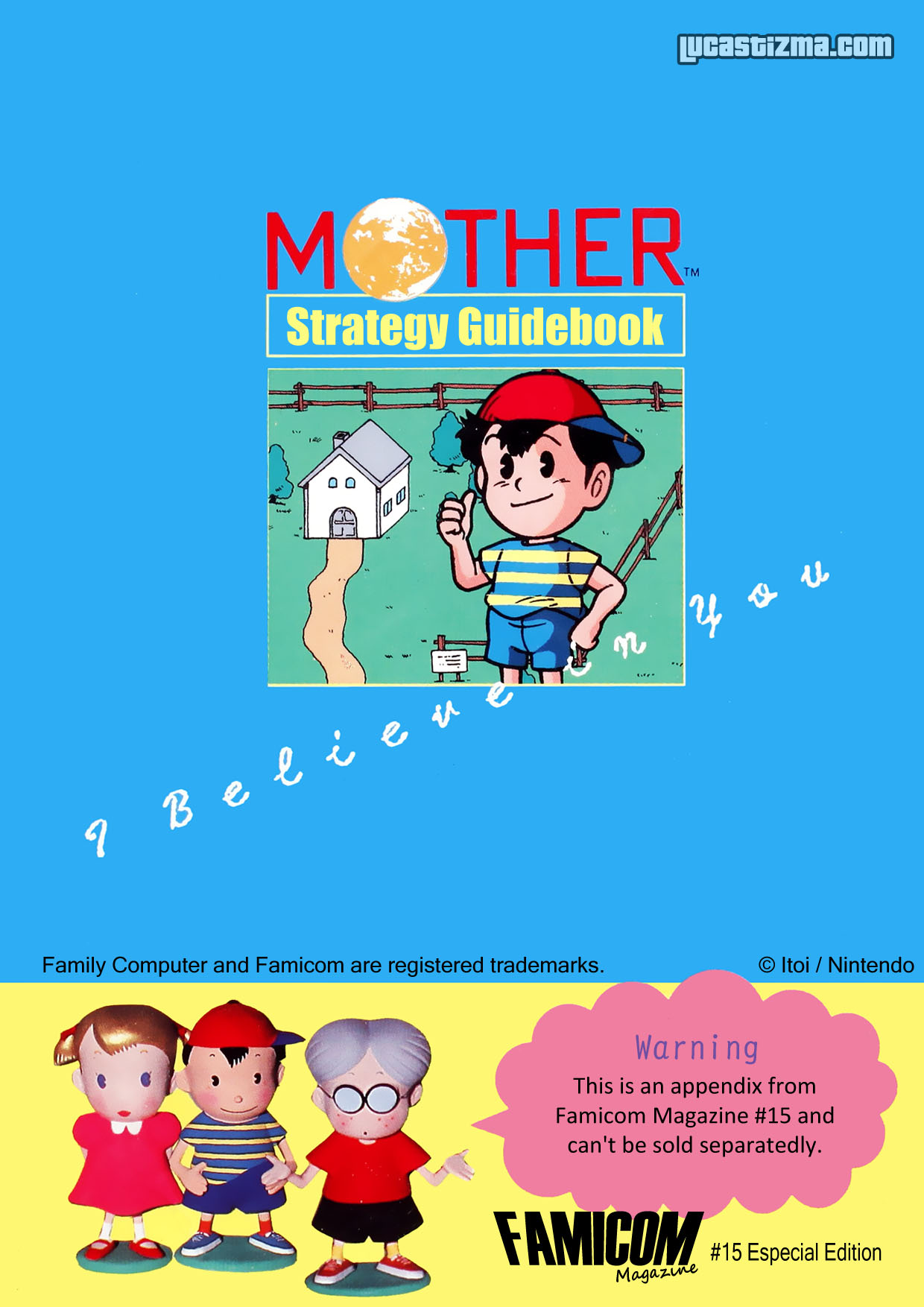 MOTHER Guide Scanned! « EarthBound Beginnings / MOTHER 1 ...