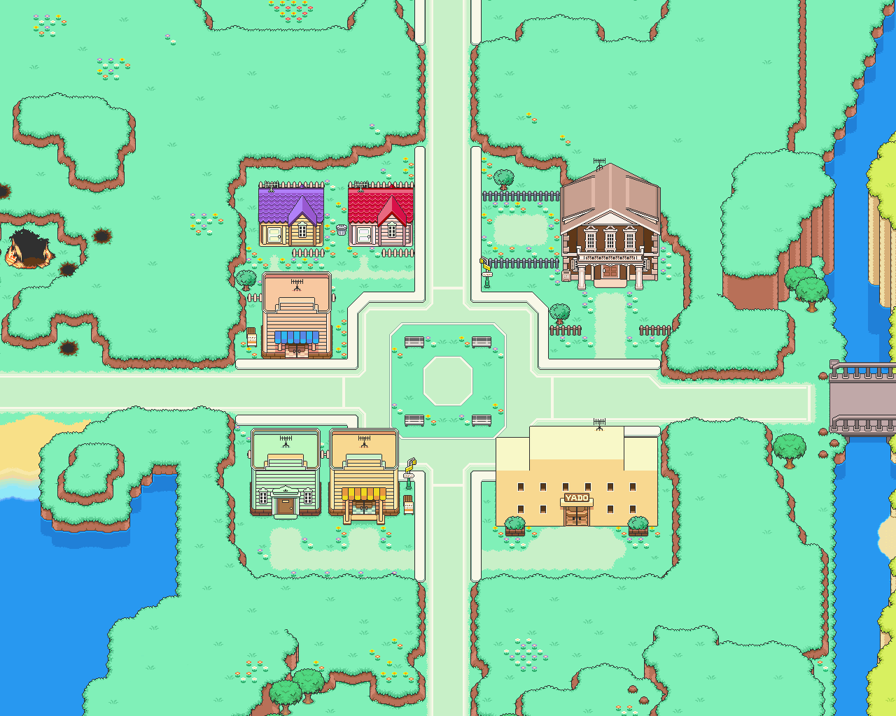 tatsumairi tazmily village wallpaper earthbound 2