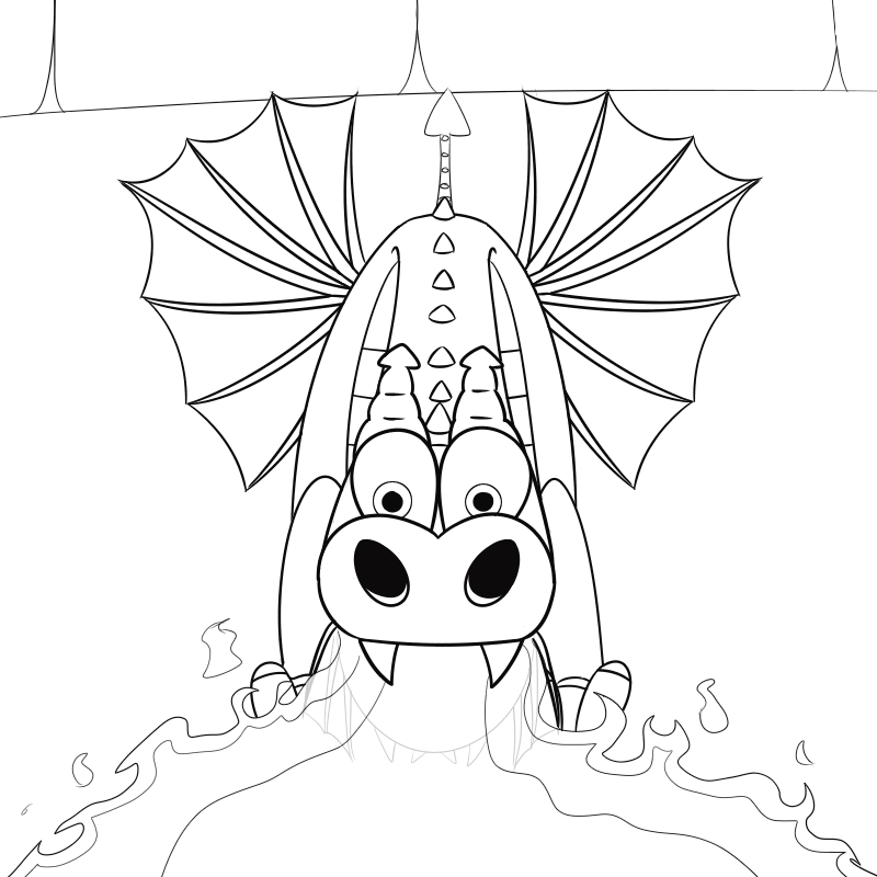 Not Sure If I Should Post My Lineart Or But Im Doing It Anyways
