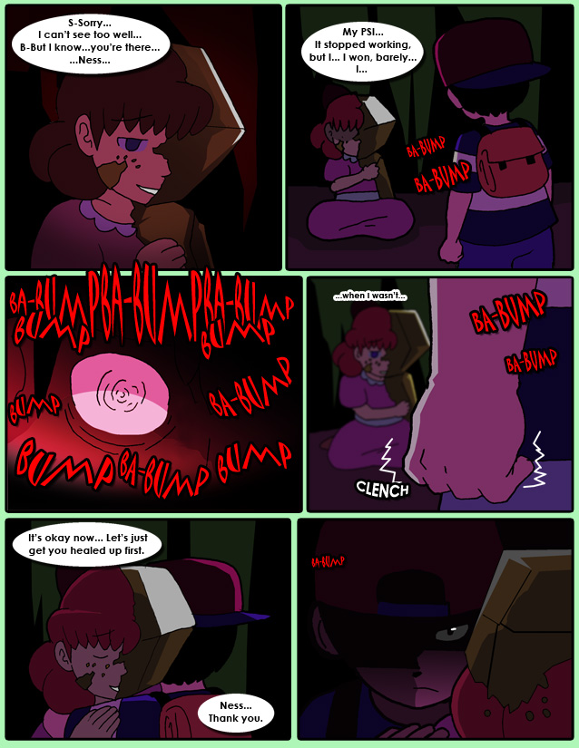 COMIC] The Chosen Four - An Earthbound adventure - What the