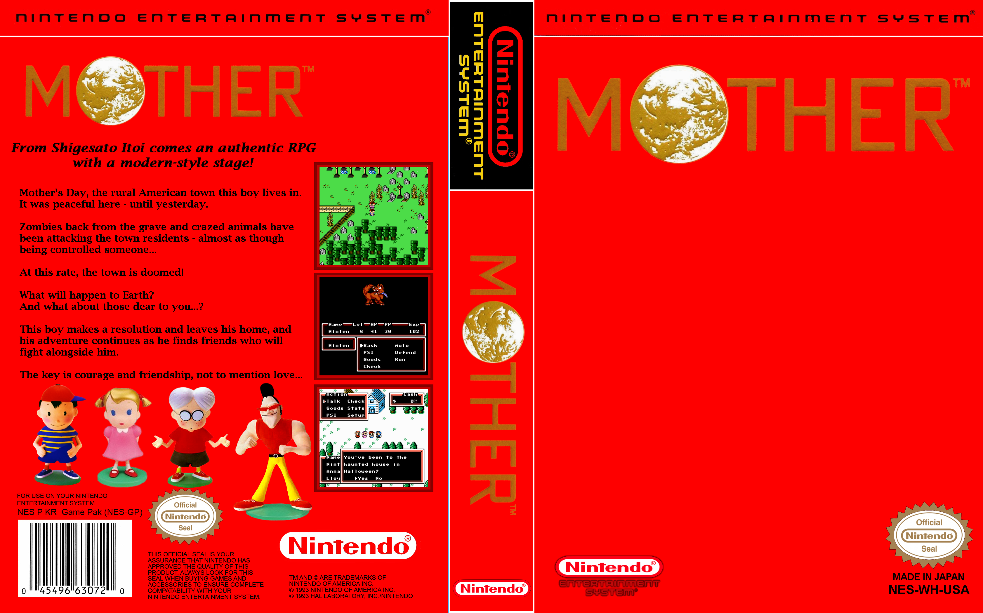 MaternalBound Ω: An EarthBound & Mother 2 Bond  « PK Hack « Forum