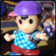 Customized Ness amiibo